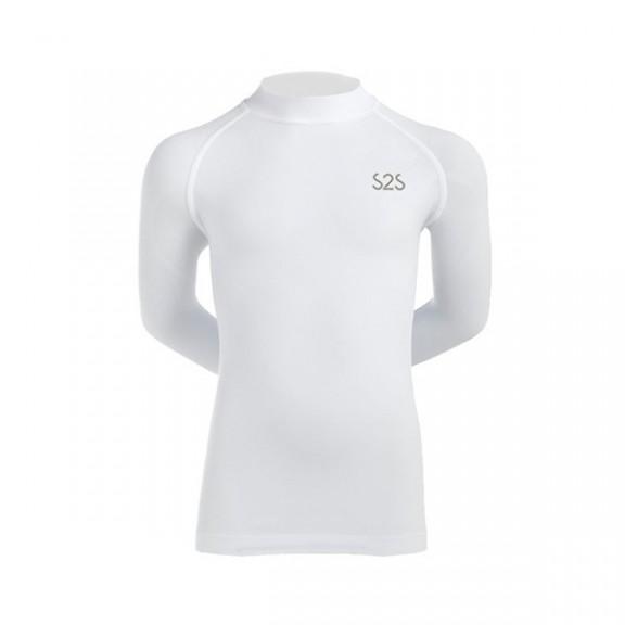 Camiseta S2S  Rex 2202k blanco niño