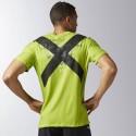 Camiseta Crossfit Reebok Burnout Tee kiwi green hombre