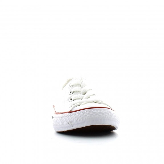 Zapatillas Converse All Star Ox blanco niño