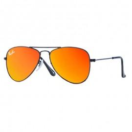 Ray-Ban rR9506s 201/6q 50 Junior  Negra Naranja Espejo Gafas
