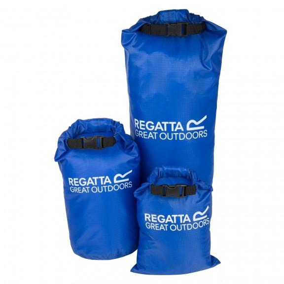 Bolsas impermeable Regatta Dry Bag Set 3 azules