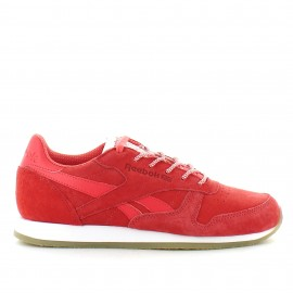 Zapatillas Reebok Classic Leather Crepe Sail Fire coral