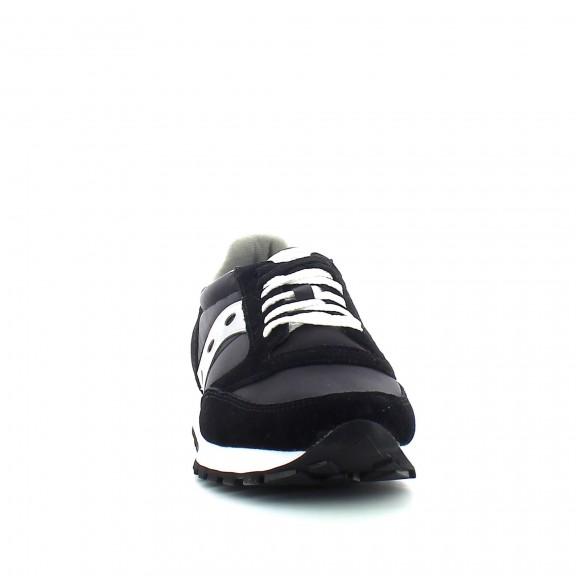 81090cf3 Zapatilla Saucony Jazz origial, color Black / Silver. Compuesta cn un  material exterior y