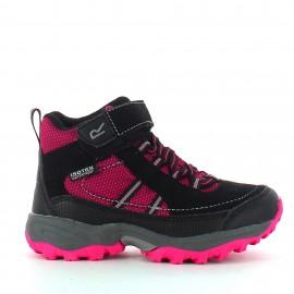 Botas montaña Regatta Trailspace II Mid rosa niña