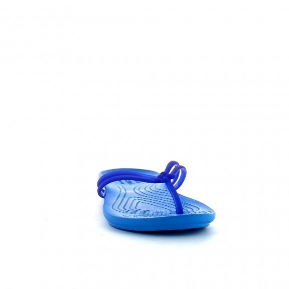 Crocs Isabella Flip w azul/celeste mujer