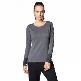 Camiseta manga larga Lotto Indy II Tee Ls gris mujer
