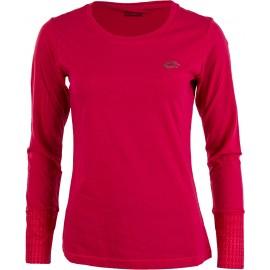 Camiseta manga larga Lotto Indy II Tee Ls rosa mujer