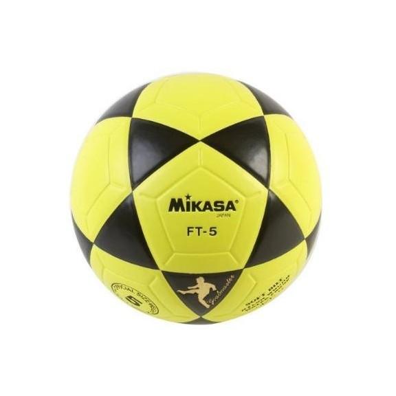 e1ecfc774b9d0 Balon futbol Mikasa Ft-5 amarillo - Deportes Moya