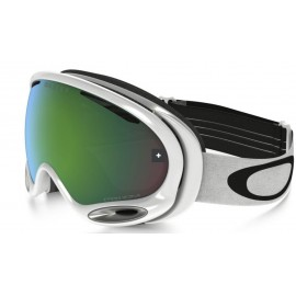 Mascara Oakley A Frame 2.0 polished white w/prizm jade