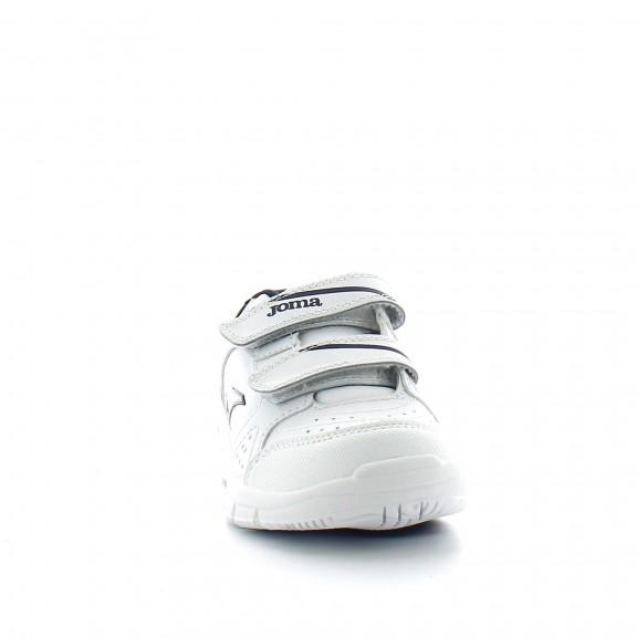 Zapatillas Joma W school jr 706 blanco rojo