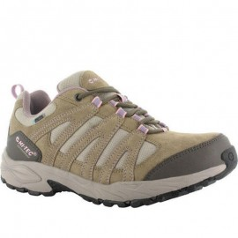 Zapatillas trekking Hi-tec Alto II Low WP verde mujer