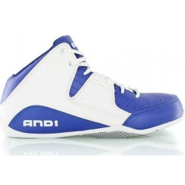 Zapatillas And1 Rocket 4 mid azul surf l blanco junior