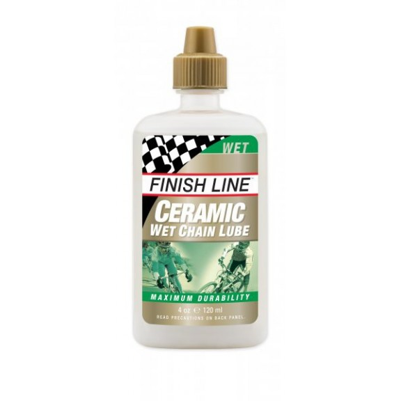 Lubricante Finish Line Ceramic Wet Lube bote 4 oz/120 ml