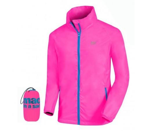 elige lo último orden bonito diseño Chubasquero Montaña Mac In A Sac Neon Pink Mujer - Deportes Moya