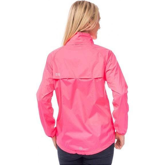 Chubasquero montaña Mac in a Sac Neon pink mujer