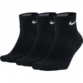 Calcetines Nike Cushion Quarter negro unisex