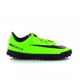 Zapatilla fútbol Nike jr Mercurial  Vortex III TF verde