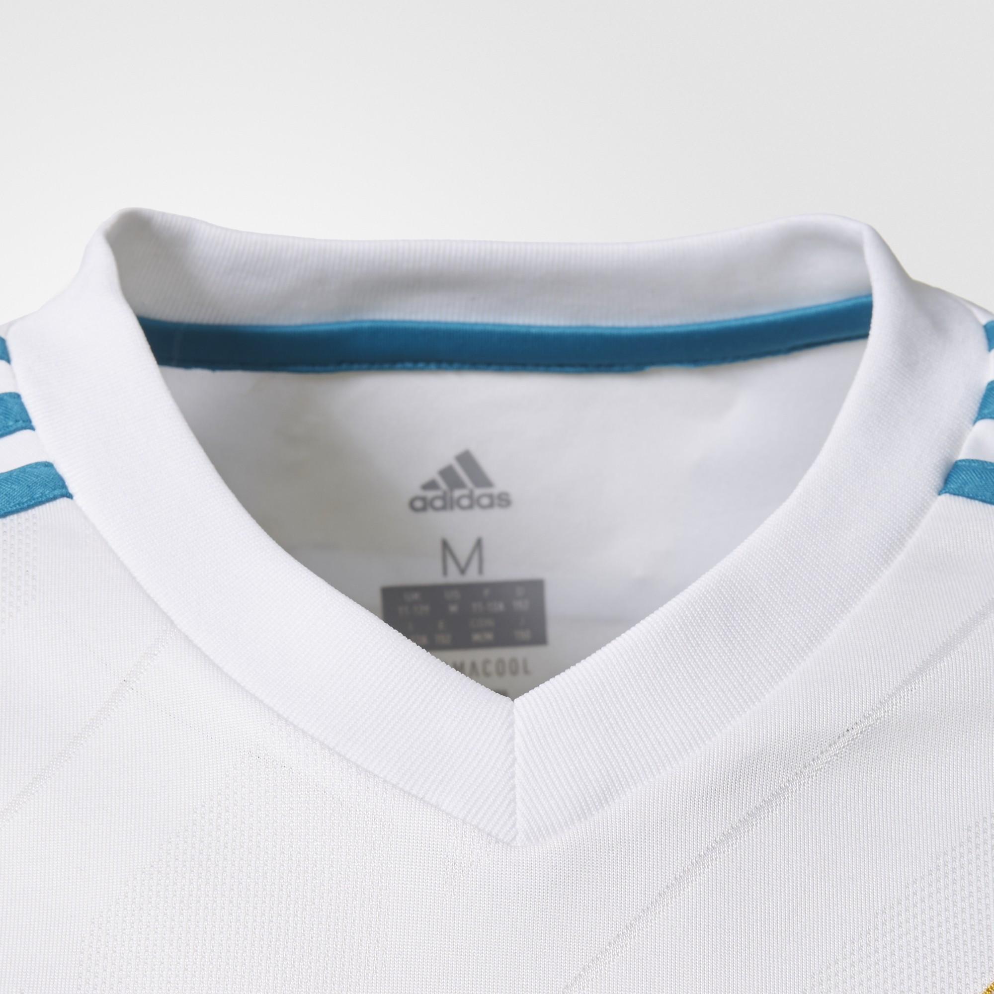 Camiseta Adidas Real Madrid Blanco Junior - Deportes Moya 724658178168e