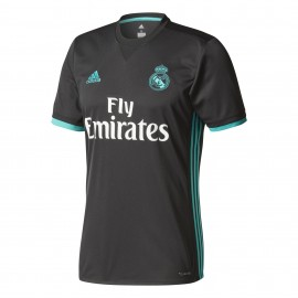 Camiseta Adidas Real Madrid 2ª equipación negra hombre