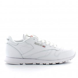 Zapatillas Reebok Classic leather blanco junior
