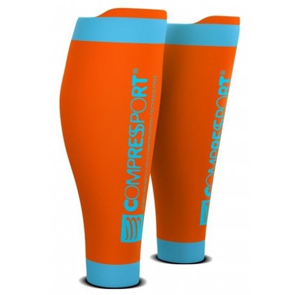 Pernera Compressport R2 V2 Naranja