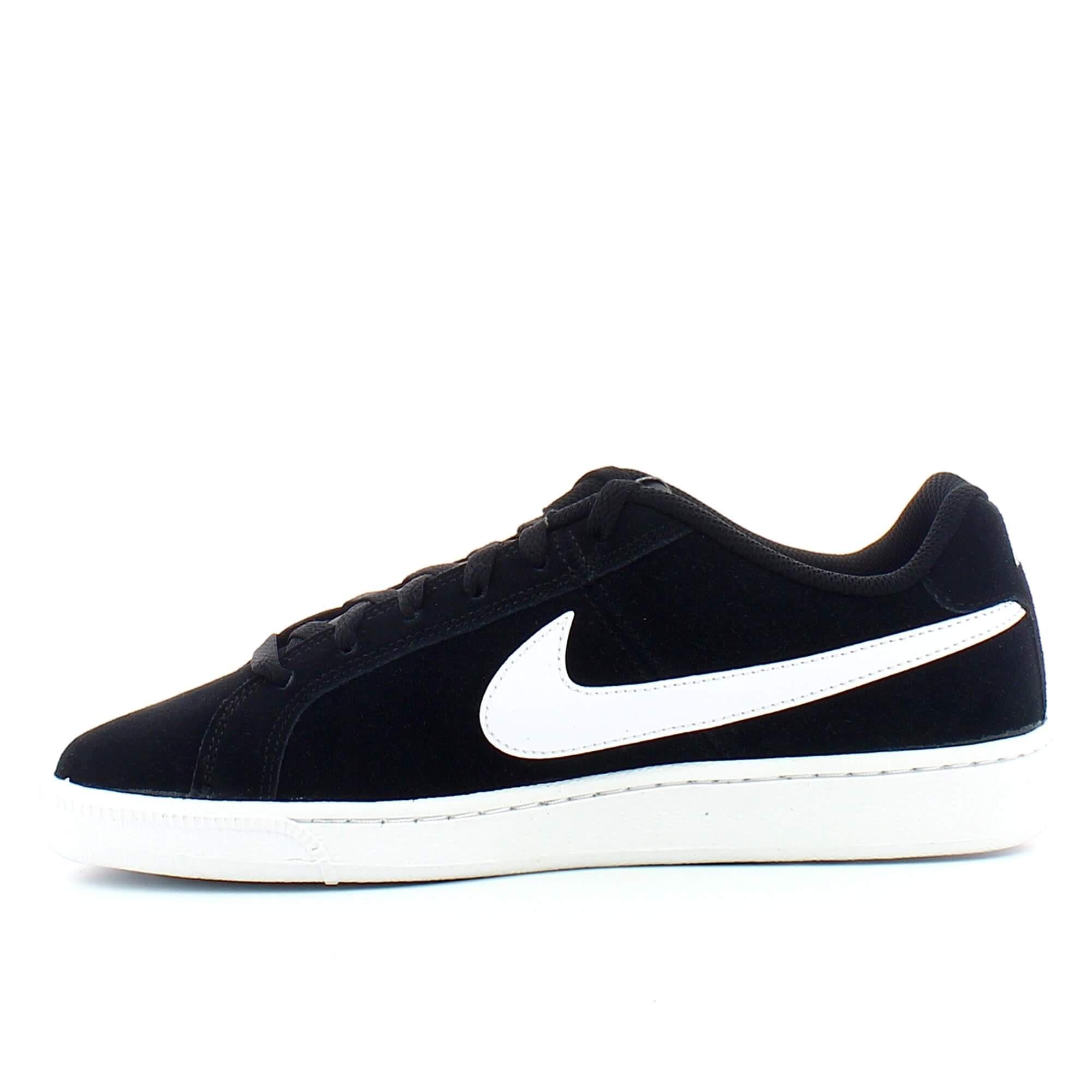 d8db43ef1e2 Zapatillas Nike Court Royale Suede Negro Blanco Hombre - Deportes Moya