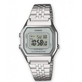 Reloj Casio digital LA680WEA-7EF plata