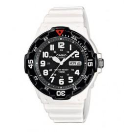 Reloj Casio analogico  MRW-200HC-7BVEF blanco negro