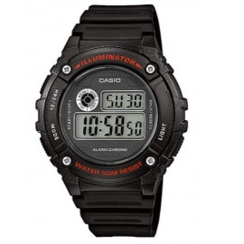 Reloj Casio  digital  W-216H-1AVEF