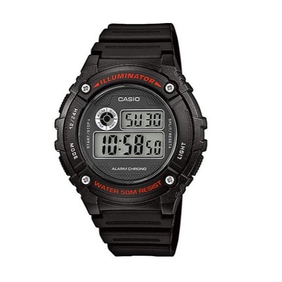 Reloj Casio  digital  W-216H-1AVEF