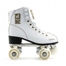 Patin Krf School Alu Pro blanco jr
