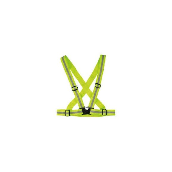 Cinto Reflectante Wowow Cross Belt  amarillo reflectante