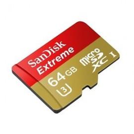Tarjeta Scan Disk Extreme 64 Gb clase 3u