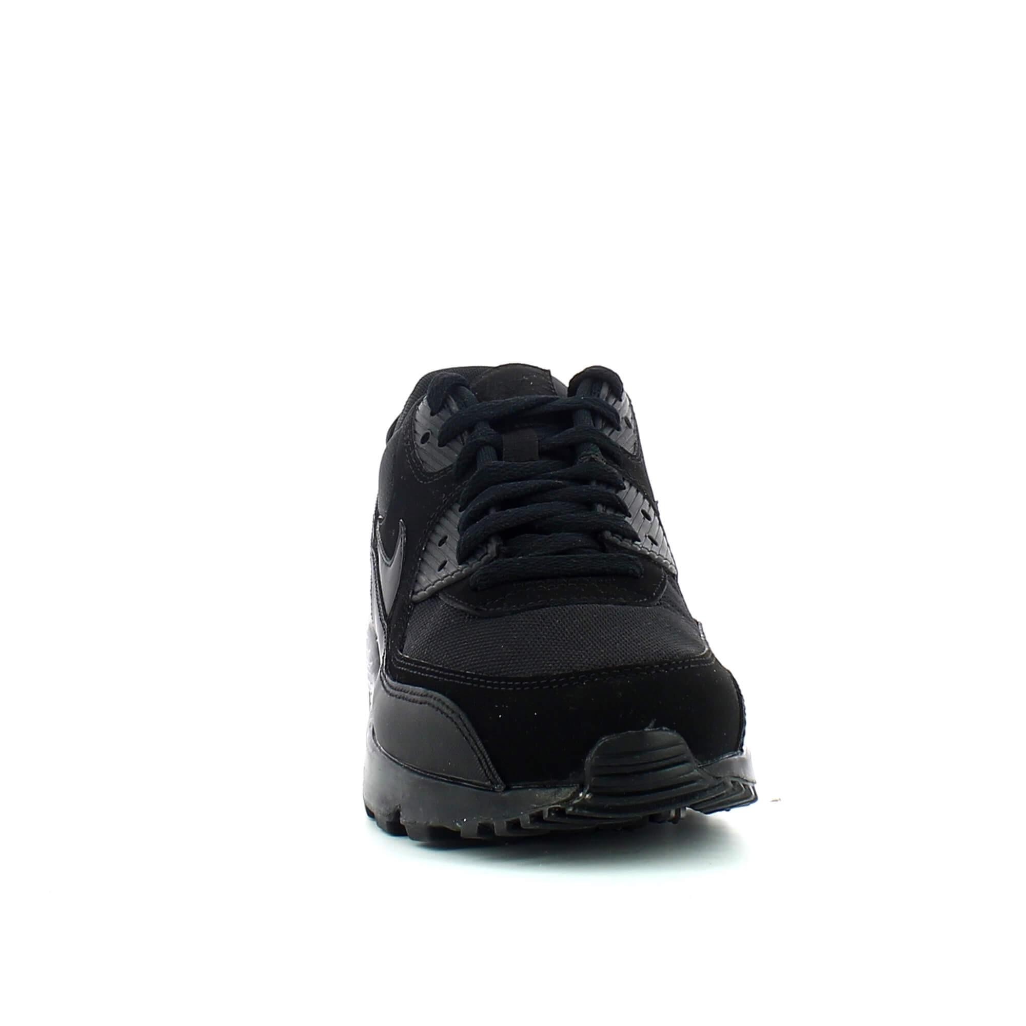 Hombre Nike Air Max 90 Essential Zapatillas 537384 090 Negro
