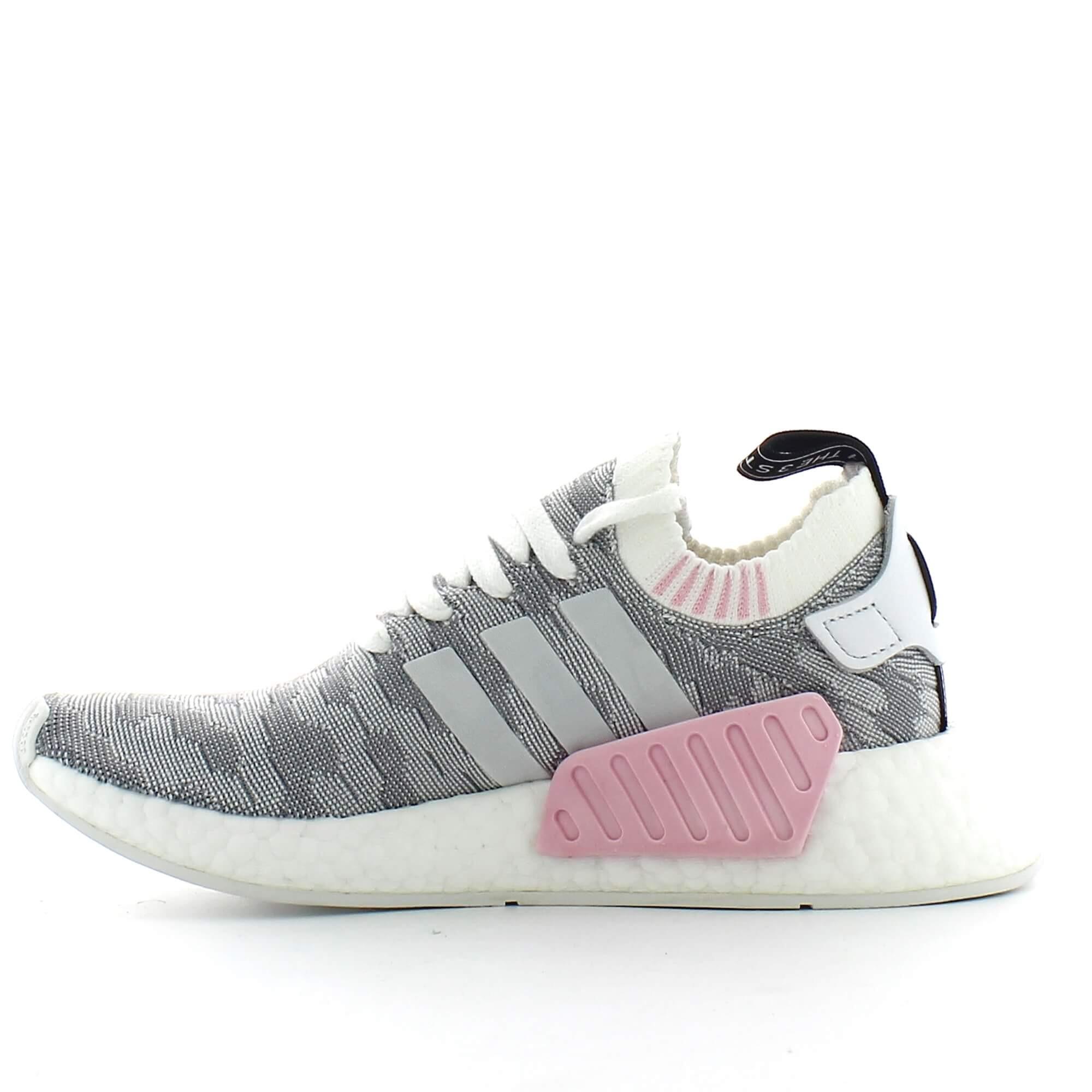 Zapatillas adidas Nmd_R2 Primeknit gris mujer