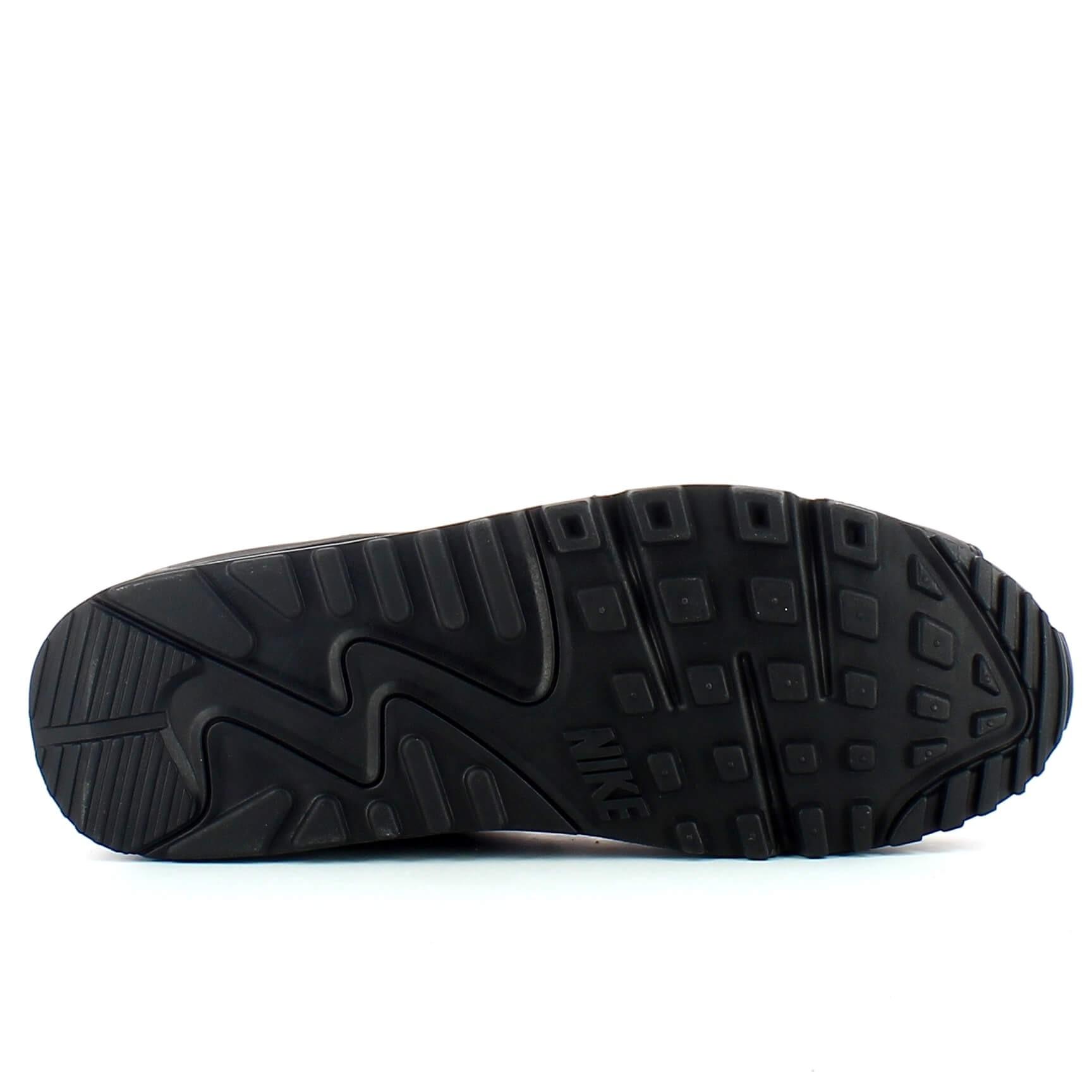 Zapatillas Nike Air Max 90 Leather Negro Negro Hombre La
