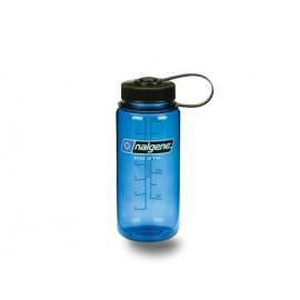 Botella Nalgene 500ml boca ancha azul