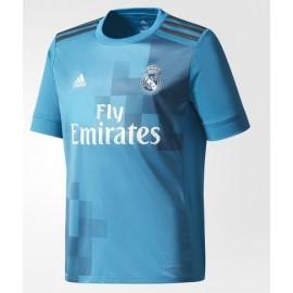 Camiseta Adidas Real Madrid 3ª equipación azul niño