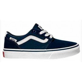 Zapatillas Vans Chapman Stripe marino/blanco junior