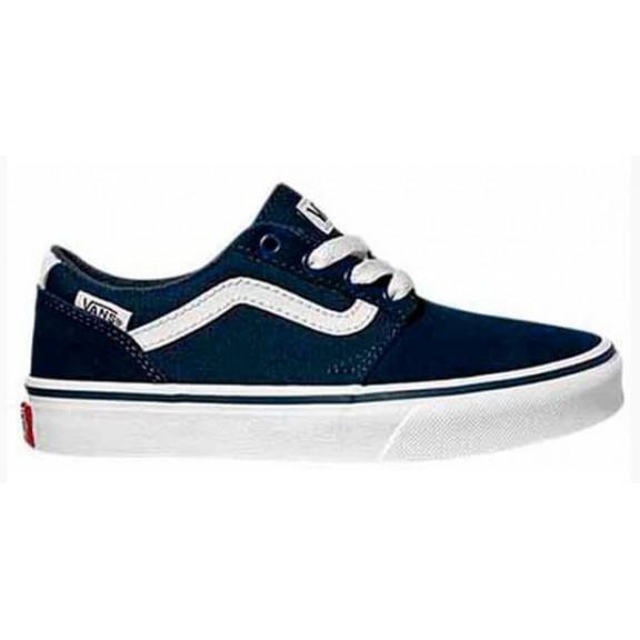 Zapatillas Vans Chapman Stripe marino/blanco junior
