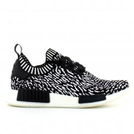 Zapatillas adidas Nmd_R1 primeknit negro/blanco hombre