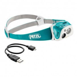 Petzl Tikka r+ teal bluel e92 rt