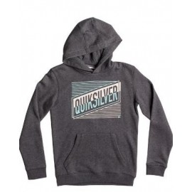 Sudadera con capucha Quicksilver Port Roca gris junior
