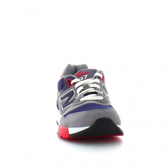 Zapatillas New Balance ML597AAB gris/marino/rojo hombre