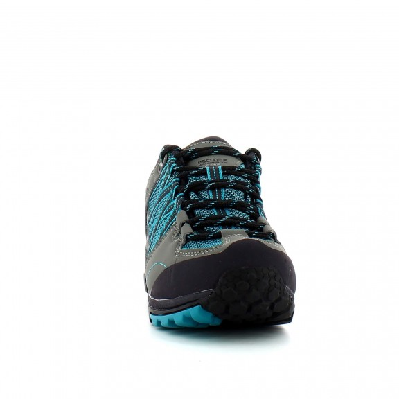 Zapatillas trekking Regatta L Samaris Low gris/verde mujer