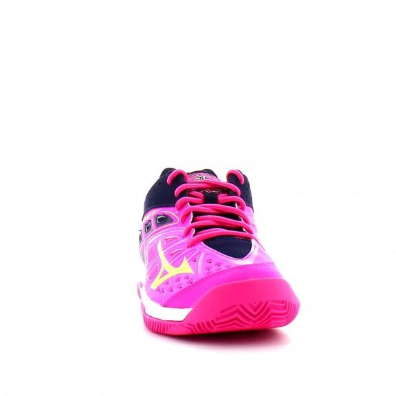 Zapatilla Mizuno Break Shot EX CC rosa