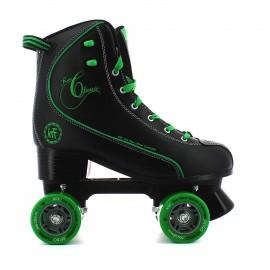 Des Krf patin D Retro PPh negro-verde