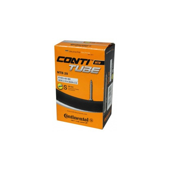 Camara Continental 29 1.75 a 2.50 valvula Presta 60 mm