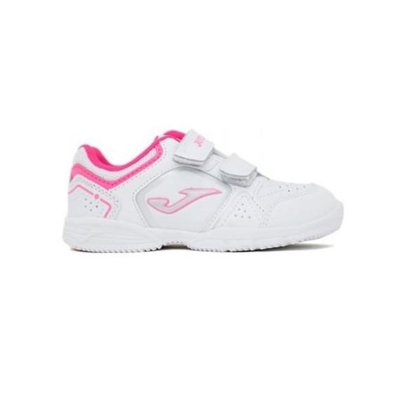 Zapatillas Joma W.school jr 710 blanco-rosa