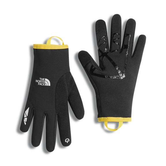 Guante caliente The North Face Runners 2 etip negro hombre